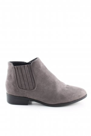 New Look Ankle Boots hellgrau Casual-Look