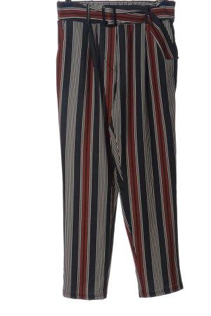 New Look Pantalón abombado estampado a rayas look casual