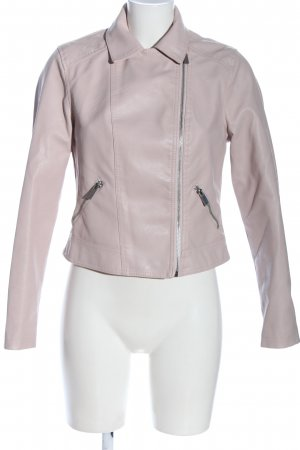 New Look Bikerjacke pink Casual-Look