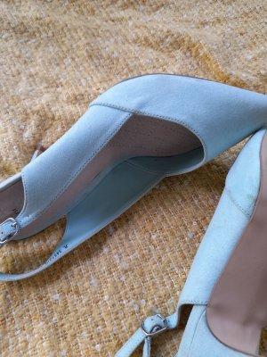new look blau high heel 40