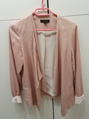 New Look Blazer in jersey rosa antico