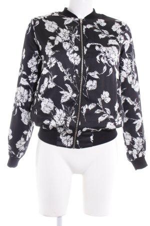 New Look Blouson noir-blanc scintillant