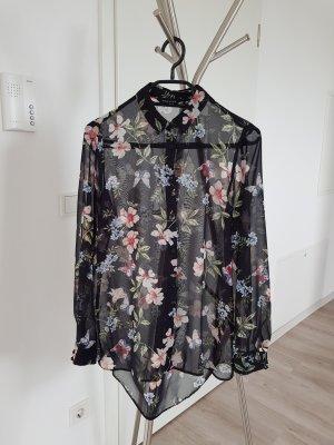 New Look Transparante blouse veelkleurig