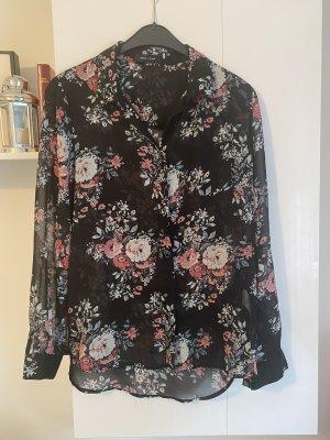 New Look Bluse 38 Blumen