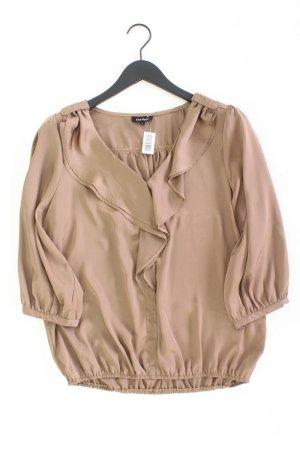 New Look Bluse Größe L braun aus Polyester