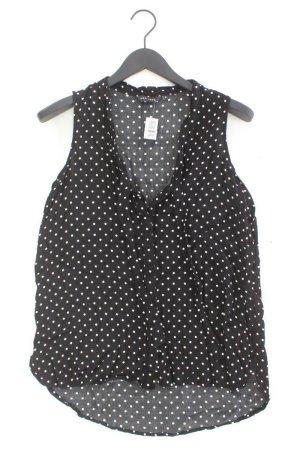 New Look Bluse schwarz gepunktet Größe 40