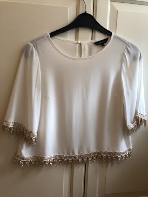 NEW LOOK Bluse Top mit Fransenspitze