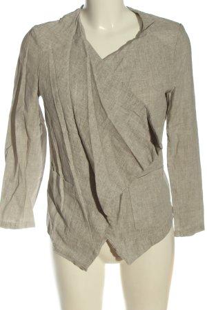 New Look Giacca a blusa grigio chiaro puntinato stile casual