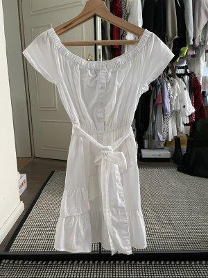 New Look Vestido camisero blanco