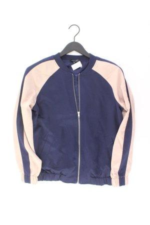 New Look Bomberjacke Größe UK10 blau aus Polyester