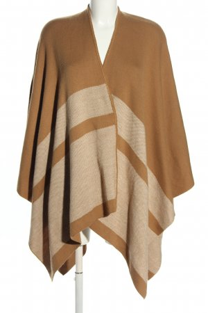 New Look Cape brown-nude striped pattern casual look