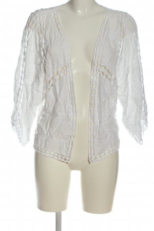 New Look Cardigan blanc style décontracté