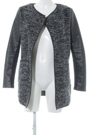 New Look Cardigan schwarz-grau Mustermix Business-Look