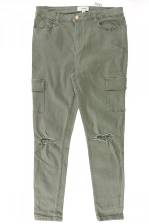 New Look Cargo Pants olive green cotton