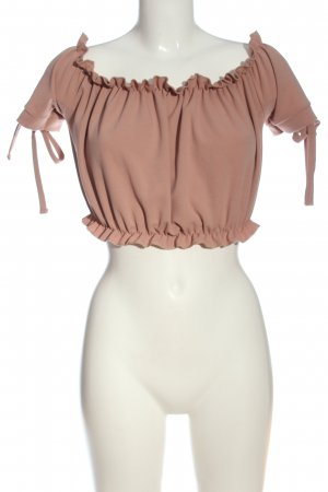 New Look Carmen-Bluse pink Casual-Look