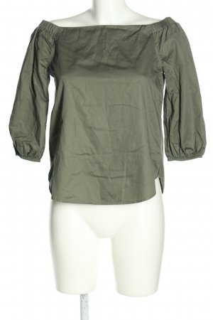 New Look Carmen-Bluse khaki Casual-Look