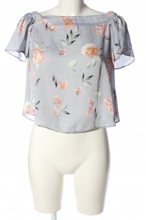 New Look Carmen-Bluse Allover-Druck Casual-Look