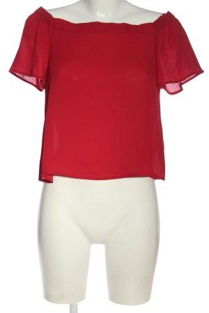 New Look Blouse Carmen rouge élégant