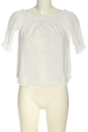 New Look Bluzka typu carmen biały W stylu casual