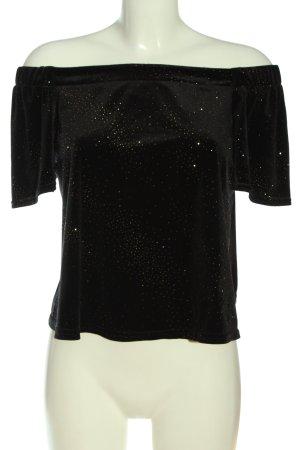New Look Carmen-Bluse schwarz Elegant