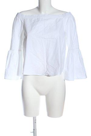 New Look Blusa tipo Carmen blanco look casual