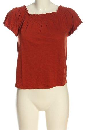 New Look Camicetta alla carmen arancione chiaro stile casual