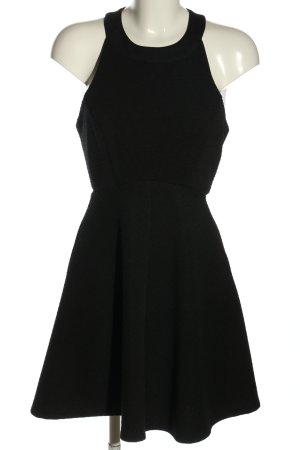 New Look Cocktailkleid schwarz Casual-Look