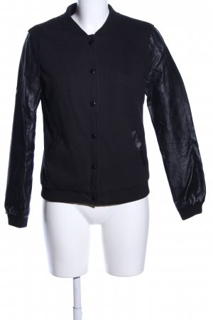 New Look Giacca college nero stile casual
