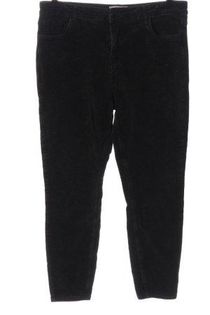New Look Corduroy broek zwart casual uitstraling