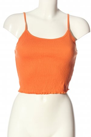 New Look Cropped Top light orange casual look