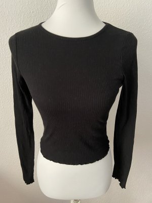 New Look Cropped top zwart Polyester