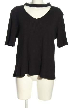 New Look Cut Out Top black casual look