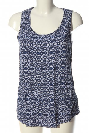 New Look Cut-Out-Top abstraktes Muster Casual-Look