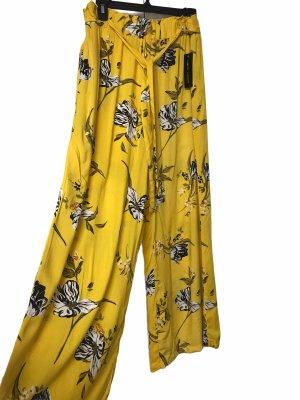 New Look Pantalone palazzo giallo