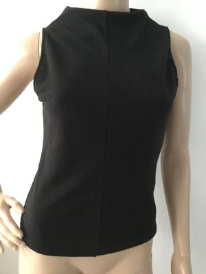New Look Neckholder Top black mixture fibre