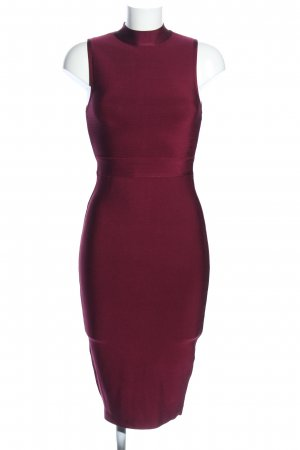 New Look Vestido ceñido de tubo rojo elegante