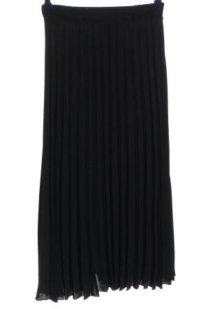 New Look Plisowana spódnica czarny W stylu casual
