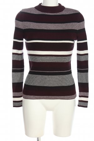 New Look Feinstrickpullover Allover-Druck Casual-Look