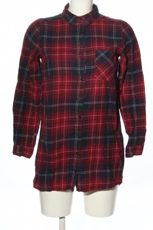 New Look Flannel Shirt red-black allover print casual look