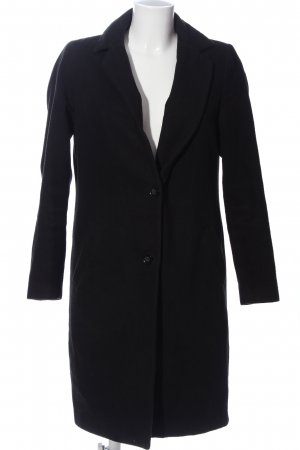 New Look Fleece jas zwart zakelijke stijl