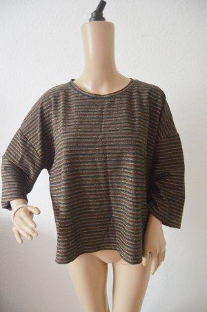 New Look glitzer Shirt gr.44 gestreift