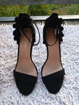 New Look, Gr. 38, schwarz, Sandalen, Heels
