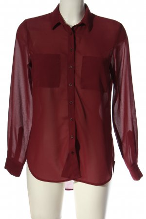 New Look Hemd-Bluse rot Casual-Look