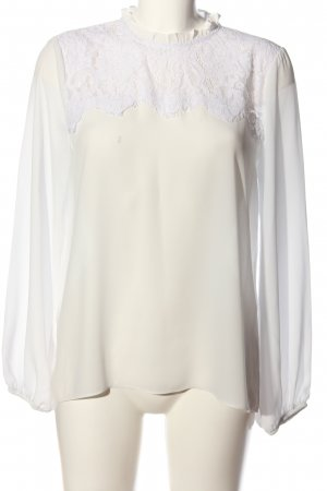 New Look Hemd-Bluse creme-weiß Casual-Look