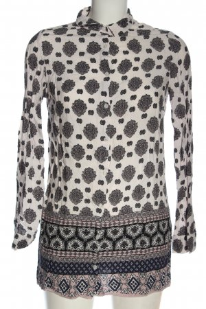 New Look Hemd-Bluse Allover-Druck Casual-Look
