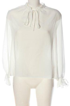 New Look Hemd-Bluse wollweiß Elegant