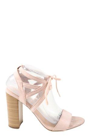 New Look High Heel Sandaletten creme Casual-Look