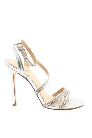 New Look High Heel Sandaletten hellgrau Elegant