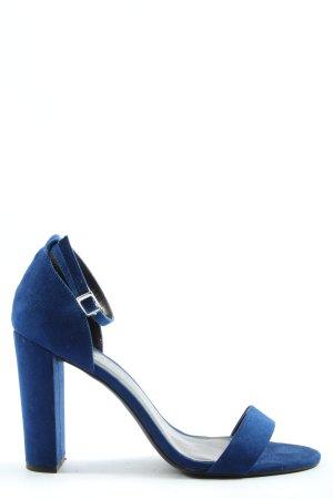 New Look High Heel Sandaletten blau Casual-Look