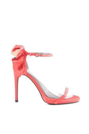 New Look High Heel Sandaletten rot Elegant